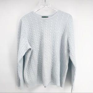 Lauren Ralph Lauren Women's Cable Knit Sweater 2X